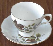 Lovely Vintage Queen Anne China Footed Teacup and Saucer Set - Pattern 8285 VGC