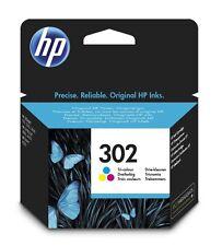 Cartuccia inchiostro tricolore ORIGINALE HP 302 (F6U65AE) per OfficeJet 3834 All