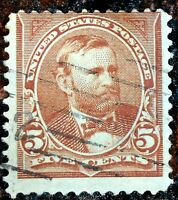Very Nice 1902 1903 Brown 4c Grant Stamp Scott# 303 J133