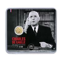 2 Euro 2020 Frankreich 50. Todestag Charles De Gaulle - Blister nur 10.000 Stück