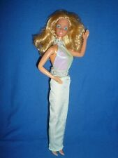 Superstar Era 1985 Magic Moves Barbie Doll ~ Works ~ Orig Jewellery/Part Outfit