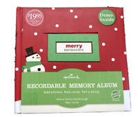 Hallmark Merry Memories Recordable Memory Book Photo Album New Scrapbook