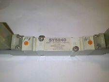 SMC SY5240 SELENOID VALVE 24 V dc L PLUG ELECTROVALVULA NEUMATICA ***
