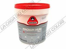BOERO - MAGNUM MURI OPACO - BIANCO - 4 litri - SMALTO PER MURI AD ACQUA