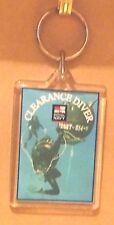 Royal Navy Clearance Diver key ring..