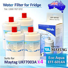 4xECO PURE EFF-6014A REPLACEMENT FOR Amana Maytag UKF7003AXX Fridge Water Filter