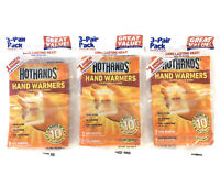 Lot of 2 10 HOURS EXP 10//23 FREE SHIPPING HOT HANDS Hand Warmers 3-Pair Pack