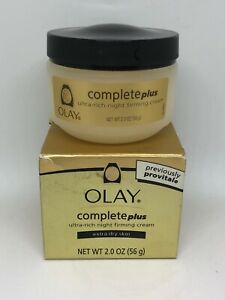 Olay Complete Plus Ultra-Rich Night Firming Cream - Extra Dry Skin - 2 Ounce