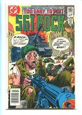 SGT. ROCK #369 HI GRADE STUNNING KUBERT COVER CANADIAN PRICE VARIANT