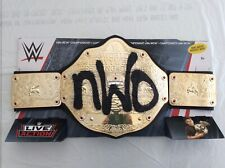 WWE Mattel nWo WCW Championship Youth Replica Wrestling Belt - Brand New