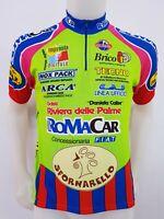 MAGLIA SHIRT CICLISMO RIVIERA DELLE PALME TAG.M BIKE ITALY CYCLING GIRO MB262