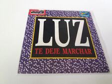 """LUZ CASAL /RICHARD MARX """"TE DEJE MARCHAR /SATISFIED"""" 7"""" SINGLE VG/VG MBE/MBE"""