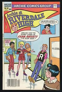 Archie at Riverdale High #89 (Archie 12/82) VF 8.0; early Cheryl Blossom app