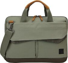 "Case Logic Lodo 14"" Laptop Attache Case LODA-114 PETROL GREEN"