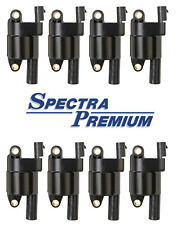 Set 8 Ignition Coil on Plug Spectra Premium Replace GMC OEM # 12573190 Round V8