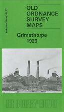 OLD ORDNANCE SURVEY MAP GRIMETHORPE 1929 HIGH STREET ST LUKES CHURCH MANOR FARM