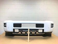 2015-2019 chevy silverado 2500-3500 front bumper with sensors (summit white) #12