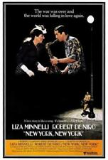 NEW YORK, NEW YORK(1977)ROBERT DENIRO LIZA MINNELL ORIGINAL MOVIE POSTER 30X40
