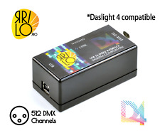 USB DMX controller Yarilo DL4 NEW. Compatible with Daslight4
