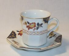 4 Mikasa FAR EAST Cups & Saucers EXCELLENT