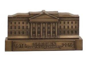 G.P.O. Building Bronze Free Standing Plaque