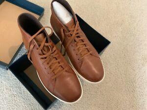 Cole Haan Grand Crosscourt High Top Sneaker Brown C26960 Mens 10.5 Woodbury
