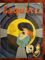 ESQUIRE magazine November 1950 Al Moore Carol Channing Ray Bradbury Frank Leahy