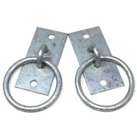 ZINC 50mm THICK Outdoor Hook On Plate Rope//Chain//Cable Tie