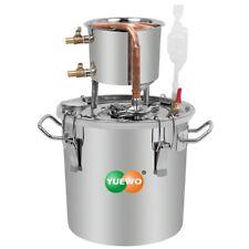 10-30L Distillatore Alambicco Alcol Brandy Olio Acqua Inossidabile Termometro