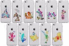 Étuis, housses et coques Apple en silicone, caoutchouc, gel pour téléphone mobile et assistant personnel (PDA) à motifs