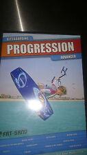 KITEBOARDING PROGRESSION ADVANCED DVD  KITE SURFING FAT SAND INSTRUCTIONAL IKO
