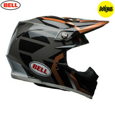 Bell Moto-9 Mips Adult Motocross District Helmet Copper/Black Size Large
