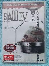 SAW IV TOBIN BELL SCOTT PATTERSON MA R4 DVD