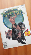 Marvel Greystoke: Tarzan of the Apes Magazine! Glorious Cover Vintage 1984