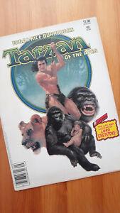 Marvel Greystoke: Tarzan of the Apes Magazine! Glorious Cover Vintage 1984