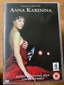 Anna Karenina DVD 2000 Channel 4 British TV Mini Series w/ Helen McCrory