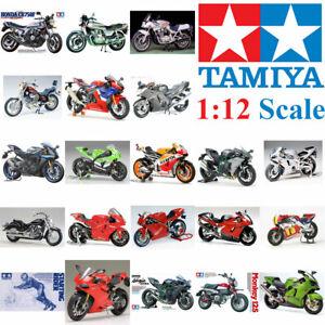 Tamiya 1:12 Plastic Model Bike Kit Multiple Choice