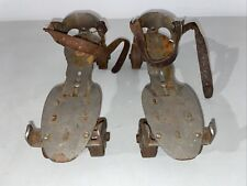 Union Hardware Co metal roller skates #5 Sears Roebuck Vintage Made in Usa