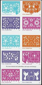 US 5081-5090 5090a Colorful Celebrations forever block set (10 stamps) MNH 2016
