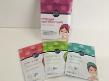Miss Spa Hydrogel Spot Treatments Eye Lip Brighten Firm Lift Hydrate 3 Pc Set