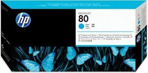 Original HP Druckkopf+Cleaner 80 C4821A cyan für DesignJet 1050 1055 AG