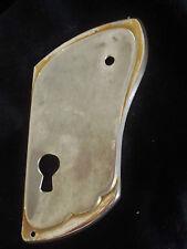 entrée de serrure de meuble pour porte droite métal couleur chromée