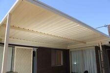 New premium colourbond Verandah, Carport, Patio, pergola, shade roofing.