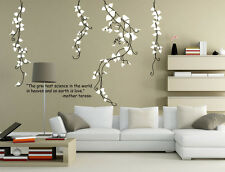 Huge Stylish Modern Flowers Wall Art wall stickers Decor UK  190