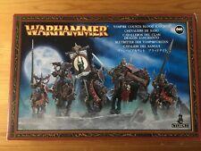 Vampire Blood Knights BNIB undead Vampire Counts regiment  Metal Warhammer OOP