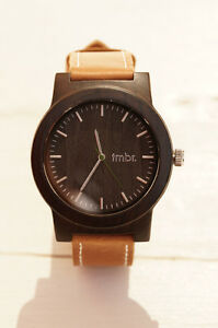 Men's Timbrwood Watch - Sandalwood with Calfskin Leather Strap (Modern)