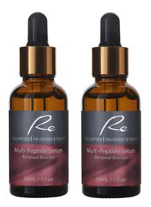 Re Multi-Peptide Serum Renewal Booster-Anti-Aging Skin Regeneration  - 2x30mL