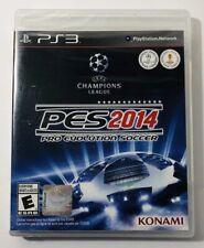 Pro Evolution Soccer 2014  Sony PlayStation 3, 2013 New
