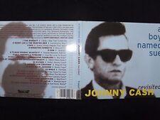 CD JOHNNY CASH / A BOY NAMED SUE / REVISITED / RARE /