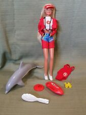 BARBIE BAYWATCH 1994 #13199 Doll & all her Accessories Great Condition